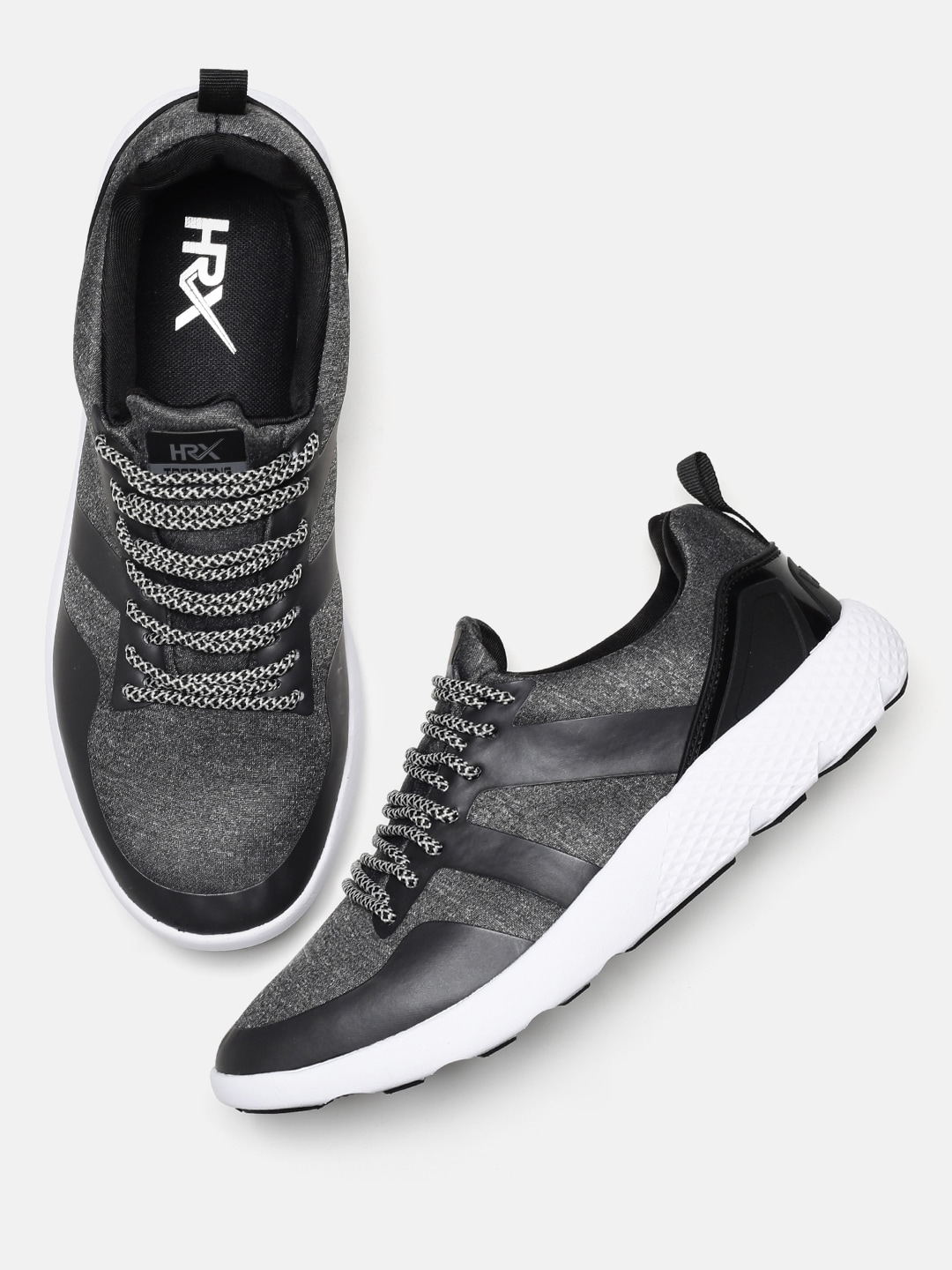 Men Charcoal Shoes Grey 2 Hrithik Or Gym Training By Blackamp; Hrx Roshan Rage BrCtsQdxh