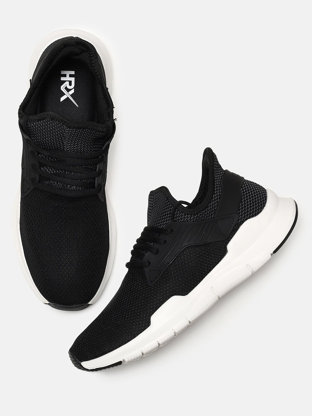 By Hrithik Men Roshan Flex Black Shoes Rep 1 Hrx Running rdxBCoe