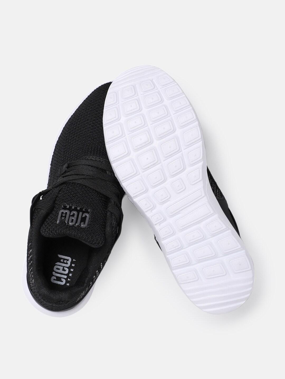 Crew STREET Women Black Running Shoes
