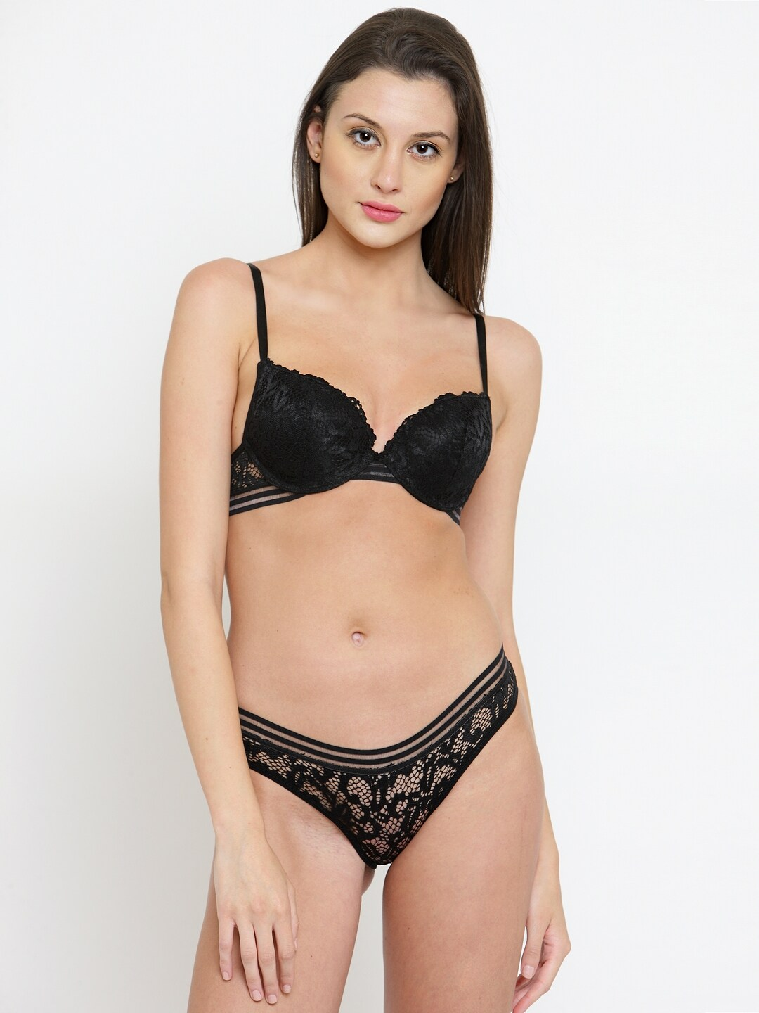 PrettyCat Black Lingerie Set PC-ST-5063 5e29854f2