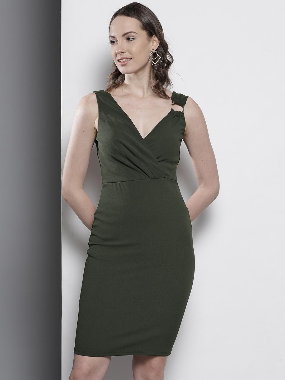 42f567ddaa6 Olive Rompers Dupatta Dresses - Buy Olive Rompers Dupatta Dresses online in  India