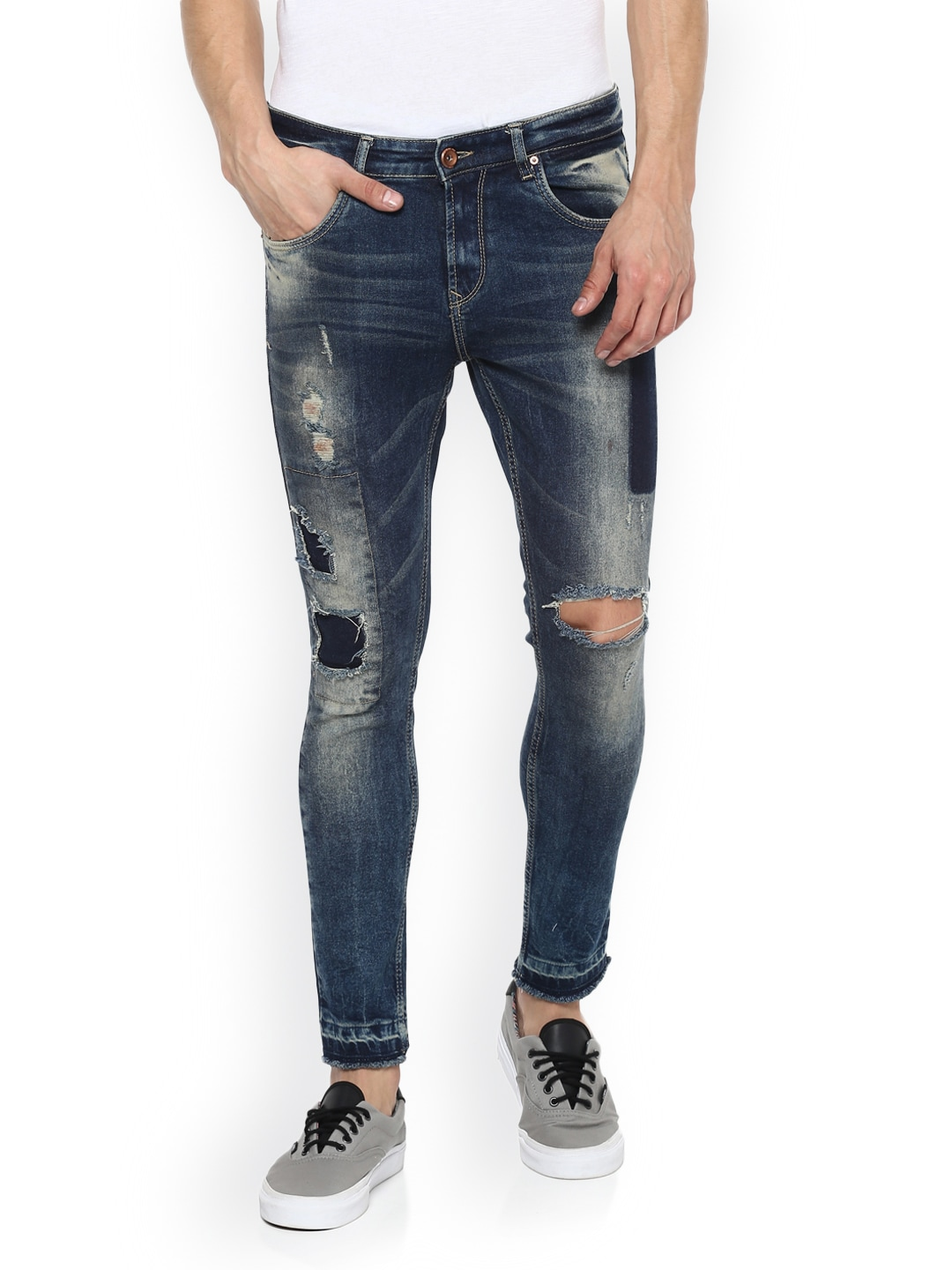 46da04afd17 Spykar Ripped Denim Jeans Leggings - Buy Spykar Ripped Denim Jeans Leggings  online in India