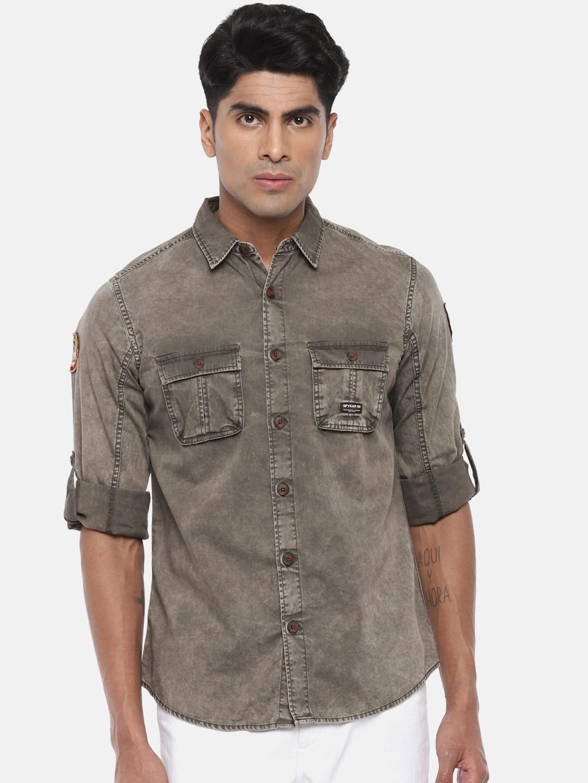 9d79e098b27 Spykar Shirts - Buy Spykar Shirt For Men   Women Online