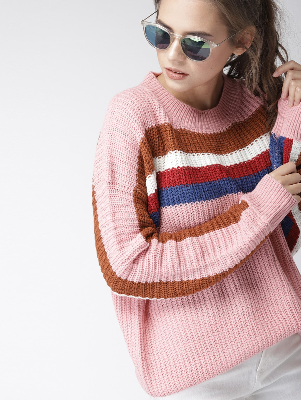 c6d7f9fa951 Sweaters for Women - Buy Womens Sweaters Online - Myntra