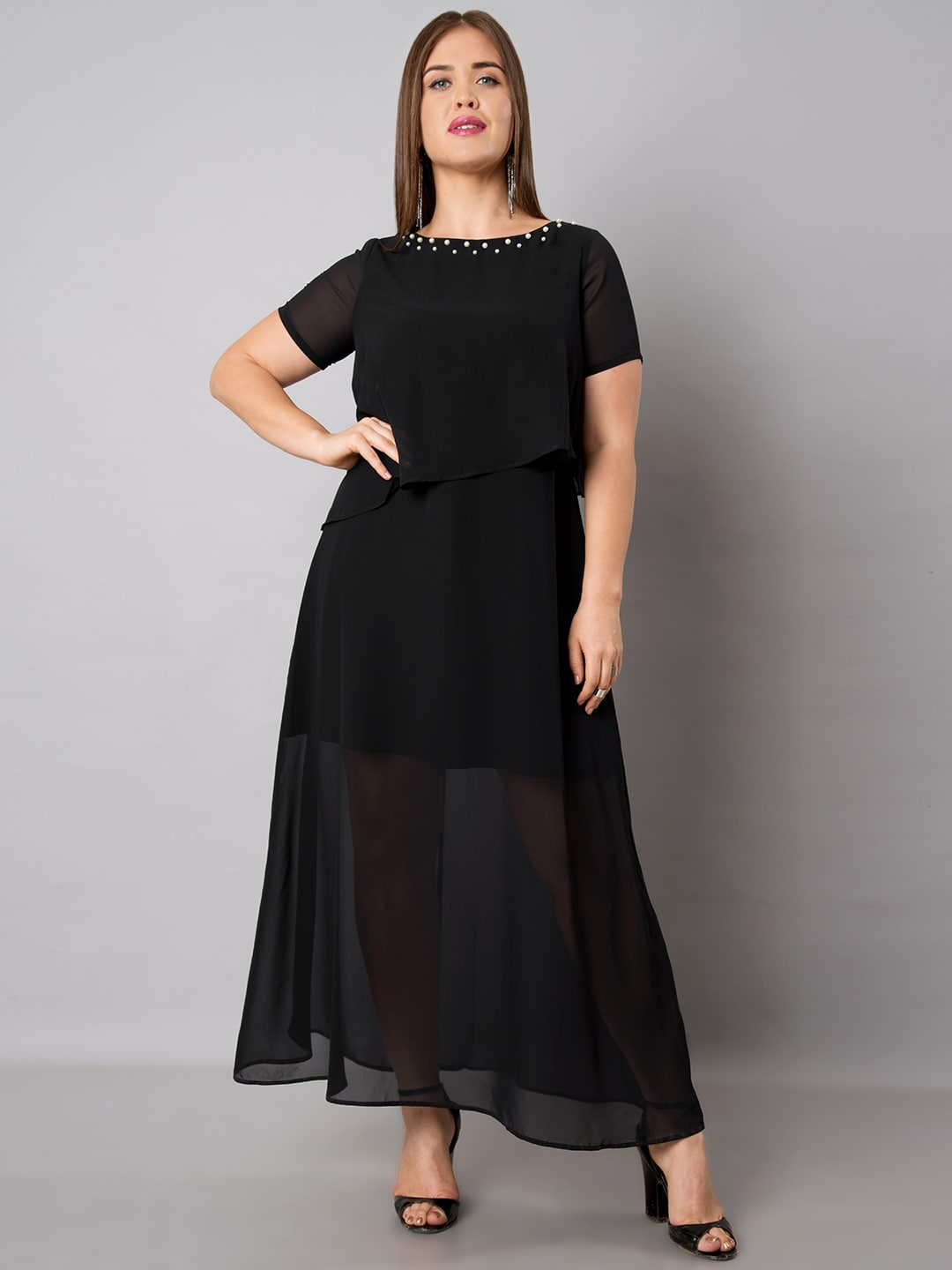 dbd8c483e1f Faballey Curve Dresses - Buy Faballey Curve Dresses online in India