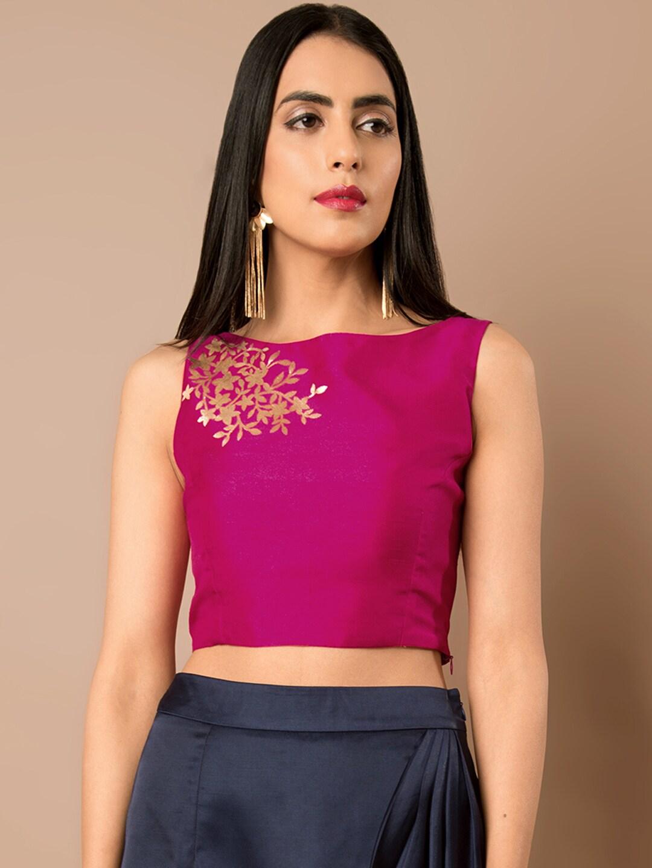 3e70b3da30337e Silk Weavers Tops - Buy Silk Weavers Tops online in India