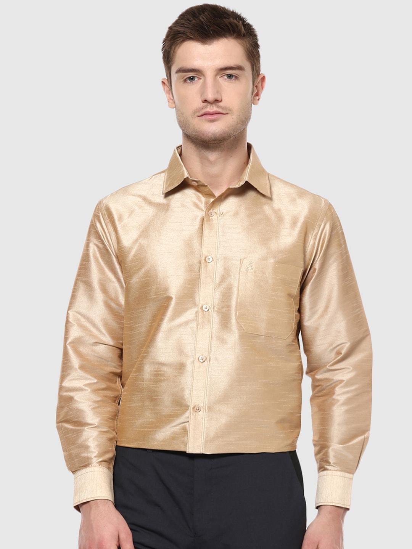 4ff1927a9852d0 Men Silk Shirts - Buy Men Silk Shirts online in India