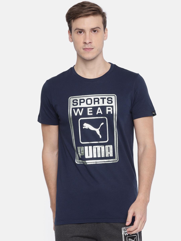 ab0b7796ddc Puma Tshirt For Men Tops - Buy Puma Tshirt For Men Tops online in India