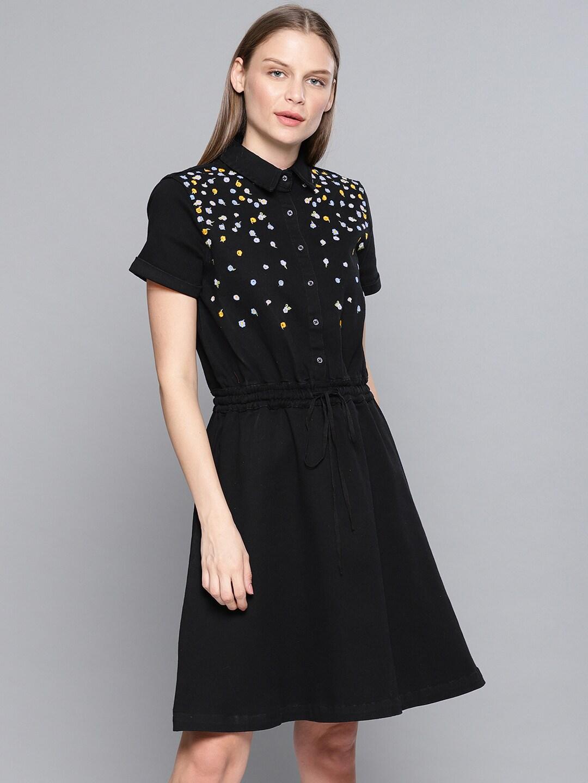8f87d68acca77 Denim Dresses - Buy Denim Dresses Online in India