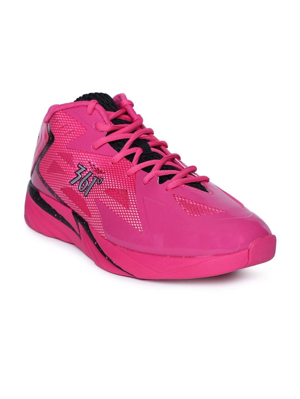 fdf55dce7736 ... Black  Men Pink Shoes - Buy Men Pink Shoes online in India ...