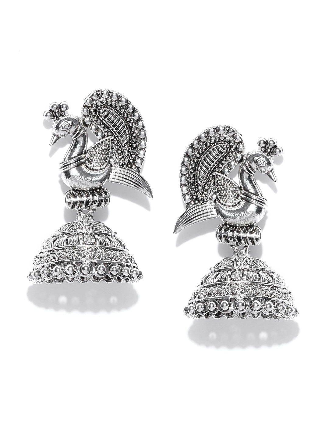 Jhumkas Buy Jhumka Earrings Online In India Myntra