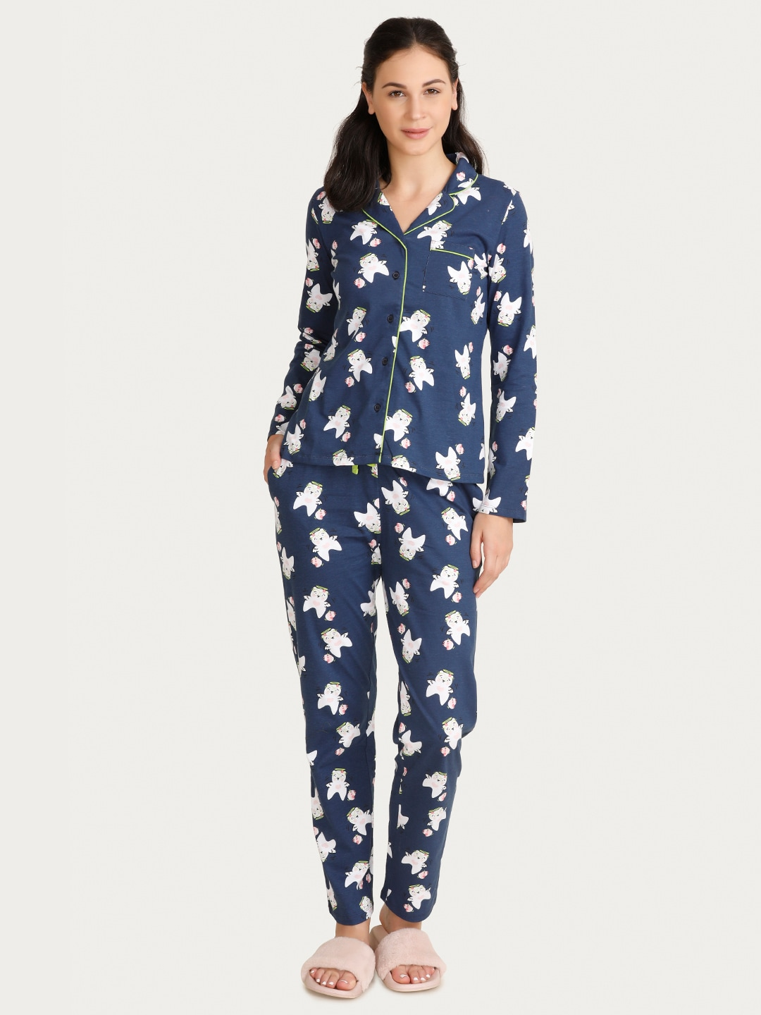 Women Loungewear   Nightwear - Buy Women Nightwear   Loungewear online -  Myntra f16a19933