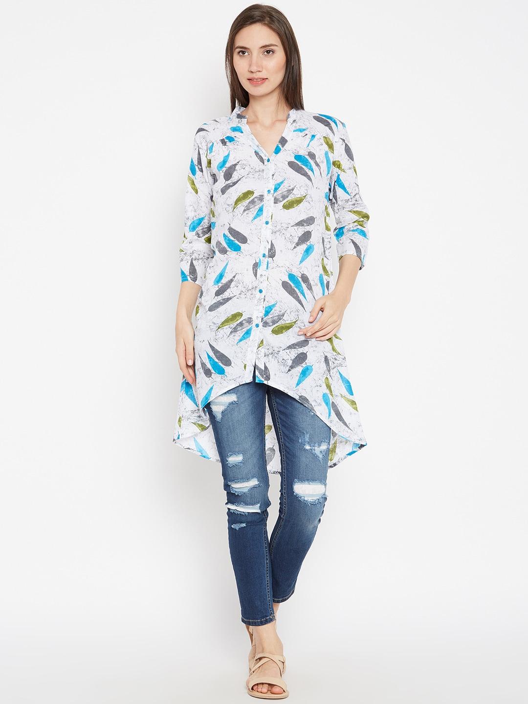 758814a1fb6f9 Cotton Tunics - Buy Cotton Tunics Online in India