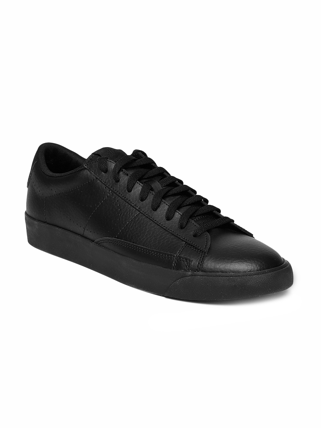 72f3a370650a Nike Leather Black Casual Shoes - Buy Nike Leather Black Casual Shoes  online in India