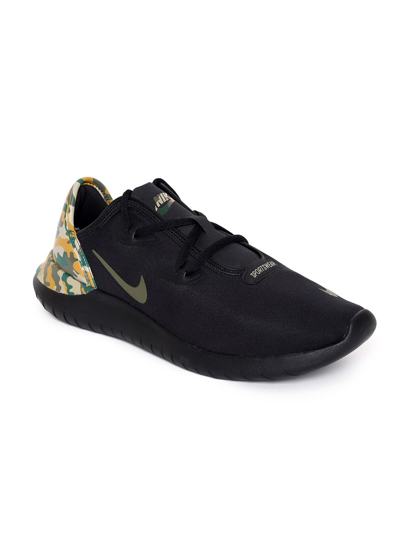 250b33cc10916 Nike Men Black HAKATA PREM Sneakers
