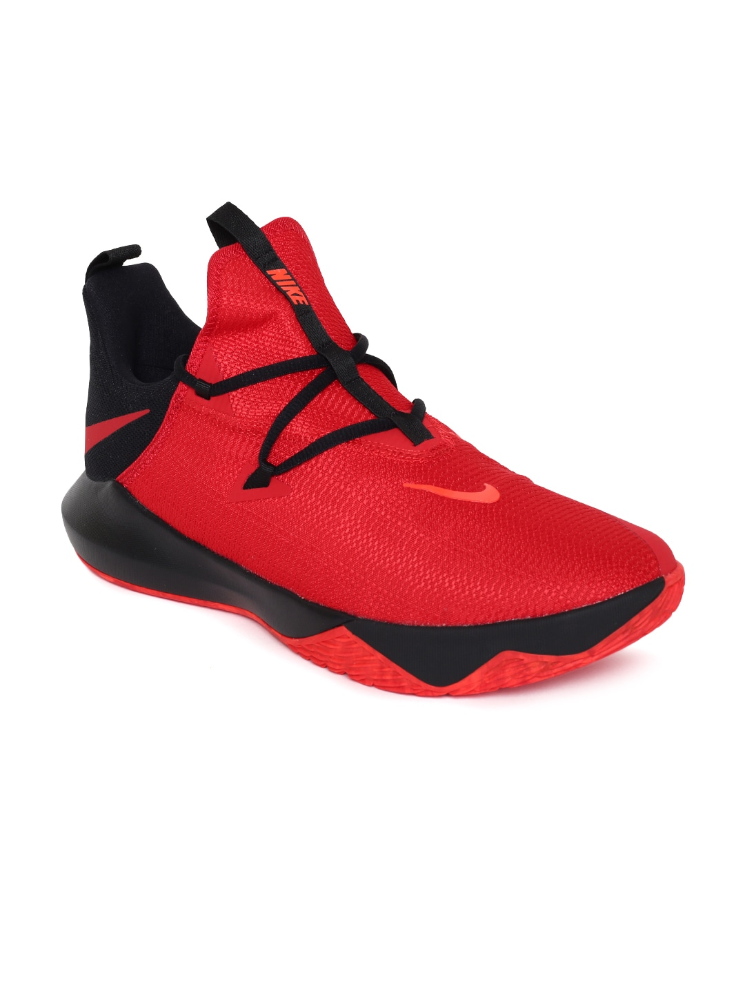 84051e04013 Nike Men Red Solid ZOOM SHIFT 2 Basketball Shoes