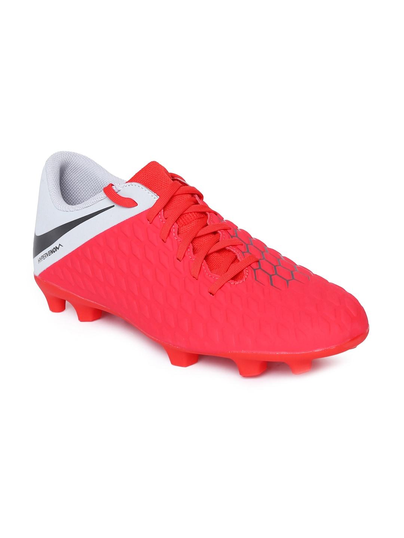 official photos 31b85 95de6 Nike Unisex Red HYPERVENOM 3 CLUB Football Shoes