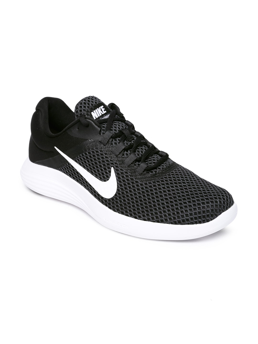 magasin d'usine fa677 87bcf Nike Men Black Lunar Converge 2 Running Shoe
