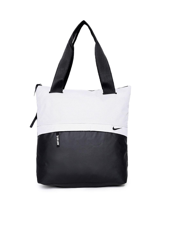 Nike Black Grey Colourblocked Radiate Tote Bag