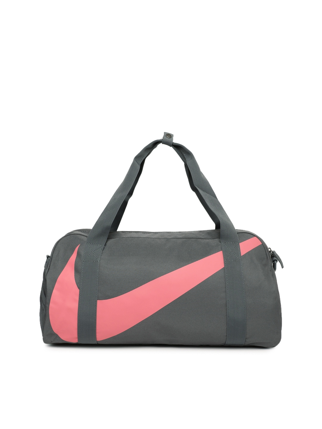 Nike Unisex Grey   Pink Gym Club Duffel Bag 91cd634ed2a2c