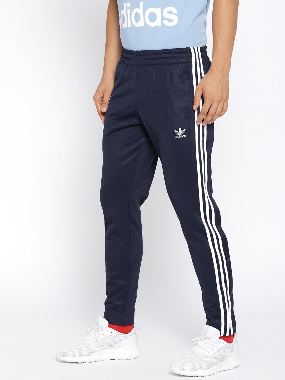 93cdba5290 ADIDAS Originals Men Navy SNAP Track Pants