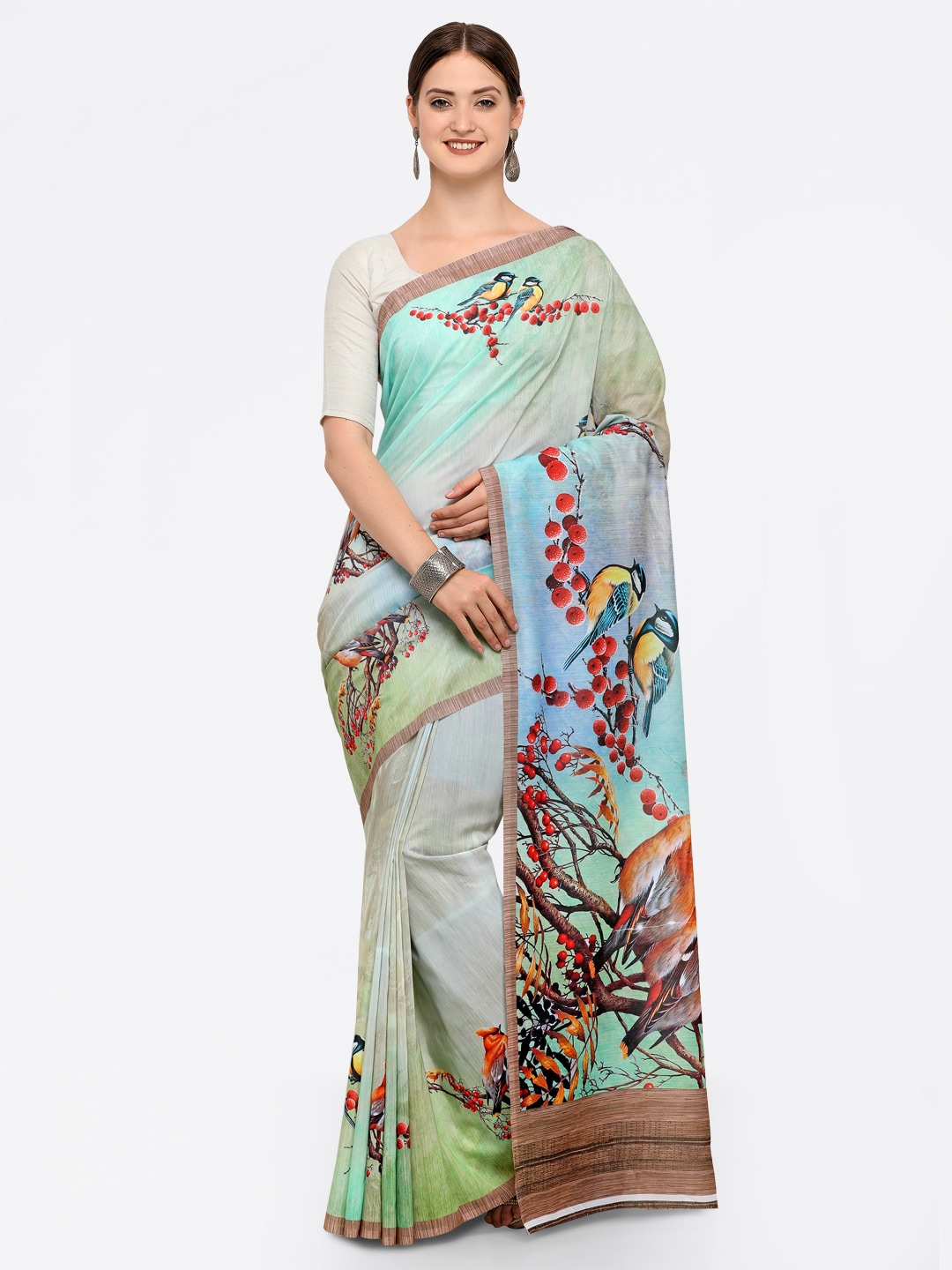 3301ba3d002755 Floral Sarees - Buy Floral Print Saree Online at Best Price