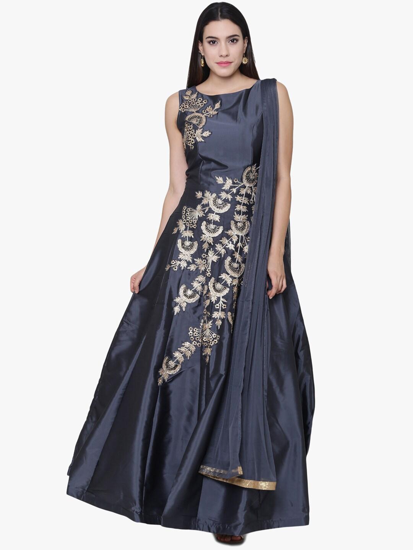 Silk Gown Buy Silk Gowns For Women Girls Online Myntra