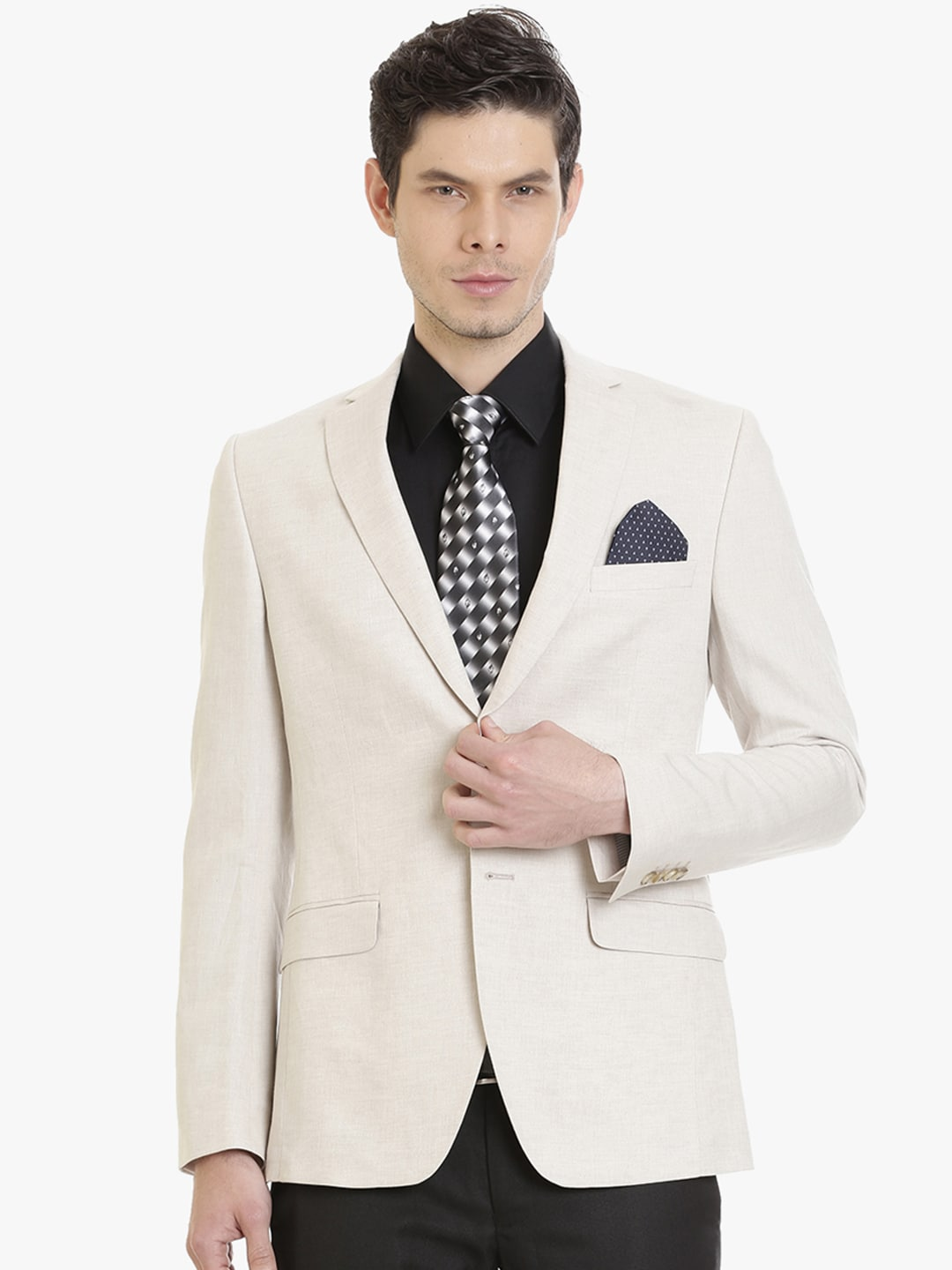 f78a00f9a26e Men Linen Summer Blazer - Buy Men Linen Summer Blazer online in India