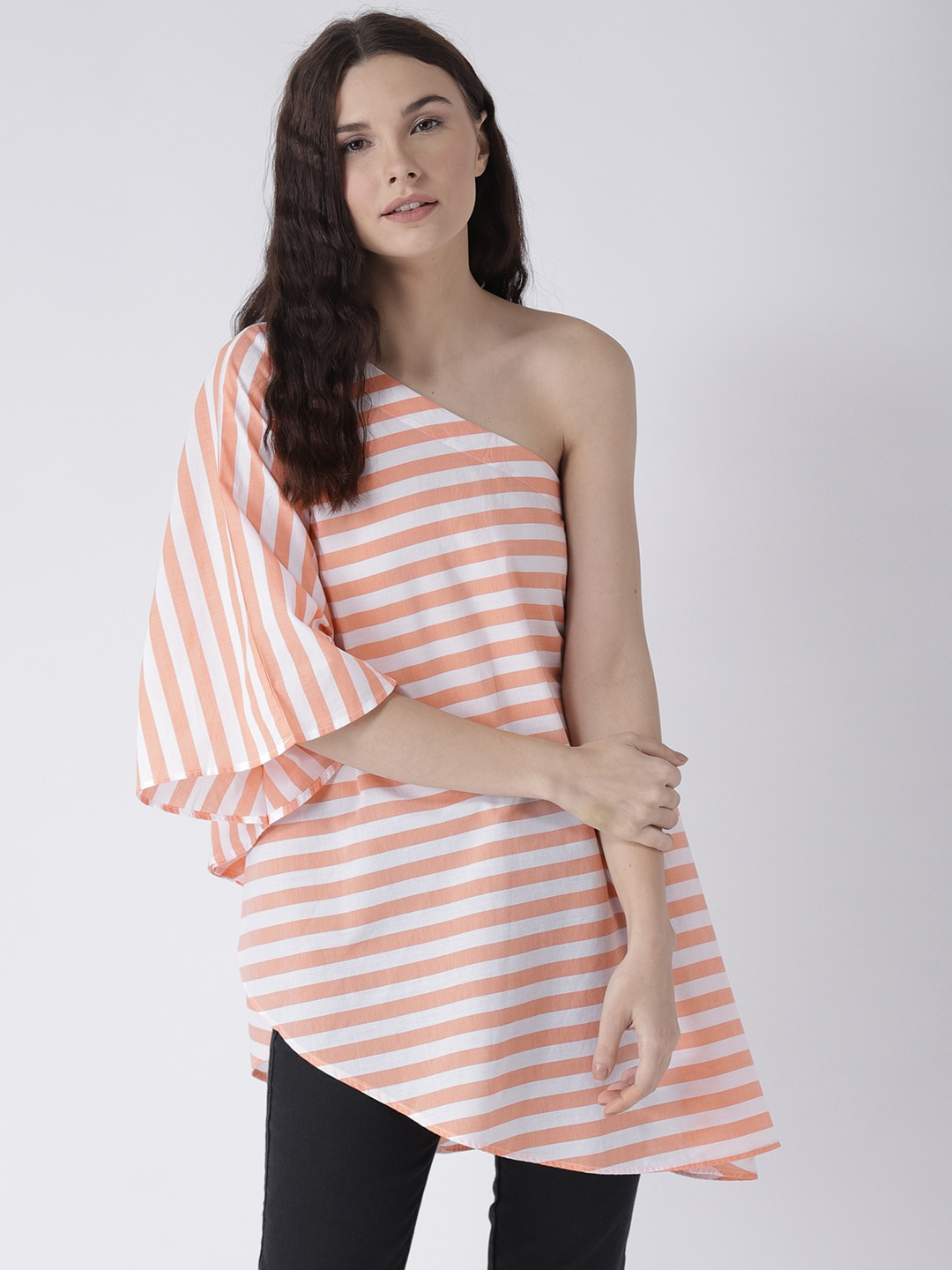 0a010d61f2a76 One Shoulder Tops - Buy One Shoulder Tops Online in India