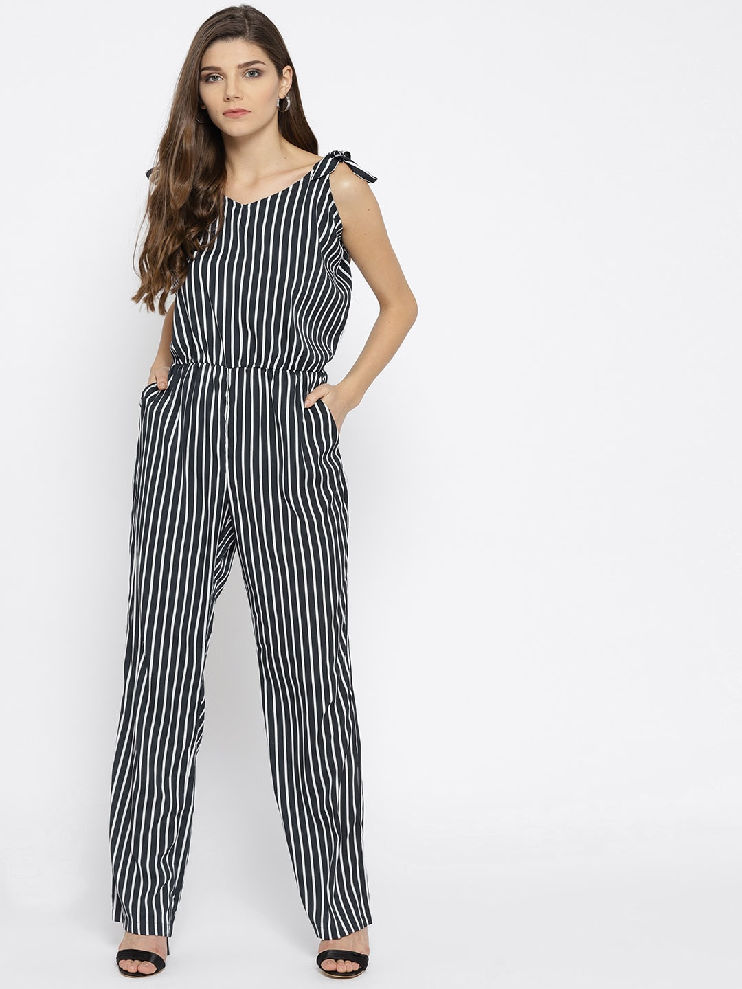 9eb5d704caa Striped Jumpsuit - Buy Striped Jumpsuit online in India
