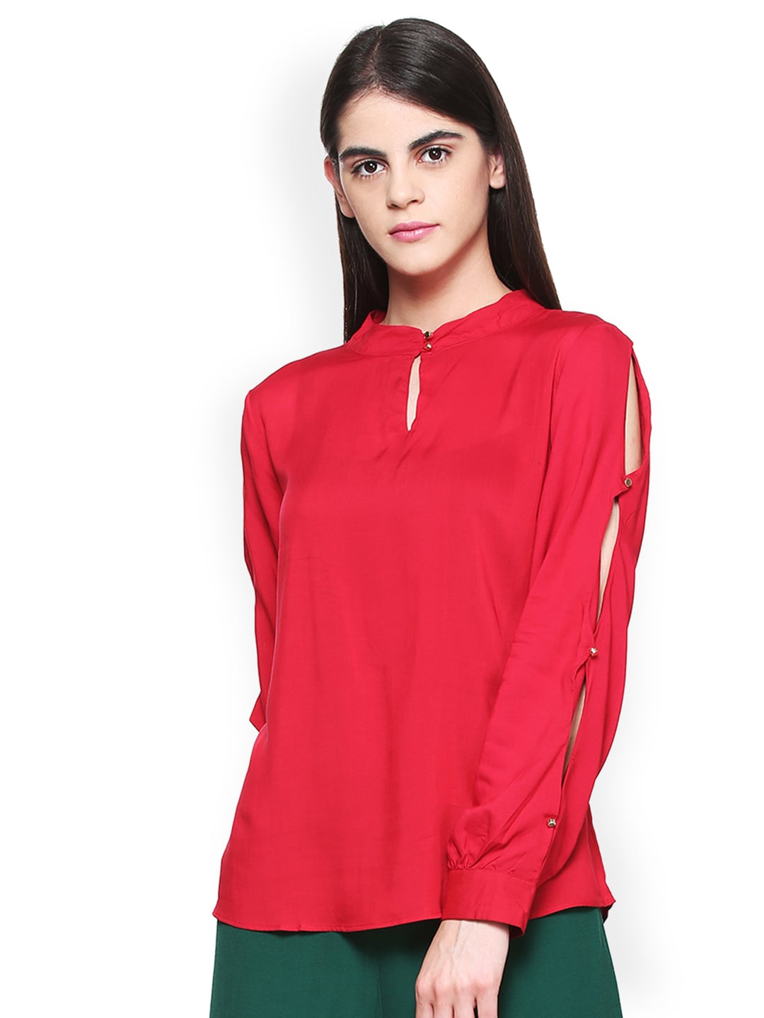556bfa31b8a46 Red Top - Buy Red Tops Online at Best Price in India