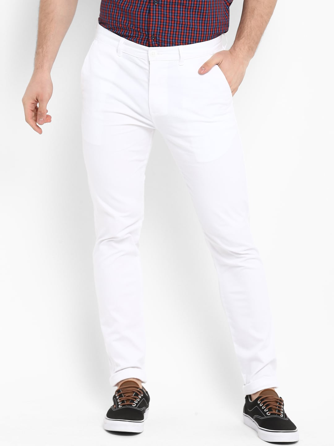 White Trousers Buy Online In India Pp Palazo Kulot Sj0015