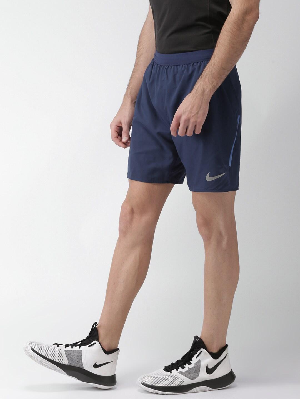 8ce5163fe0e8 Nike Men Sports White Shorts - Buy Nike Men Sports White Shorts online in  India