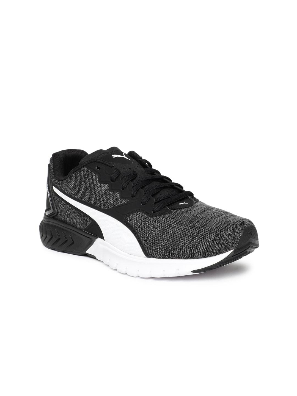 116fde0c82 Puma Women Charcoal Grey & Black IGNITE Dual NM Running Shoes