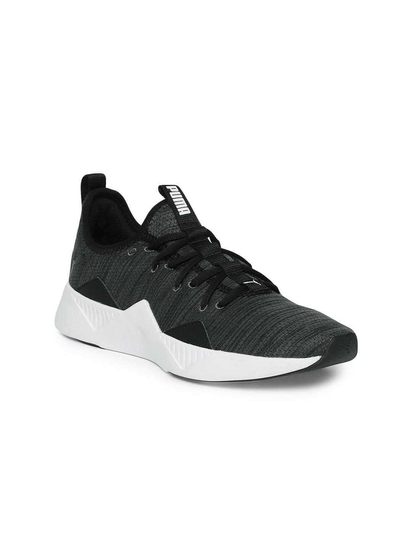 58bc5281fb1 Grey Puma Pink Sports Shoes - Buy Grey Puma Pink Sports Shoes online in  India