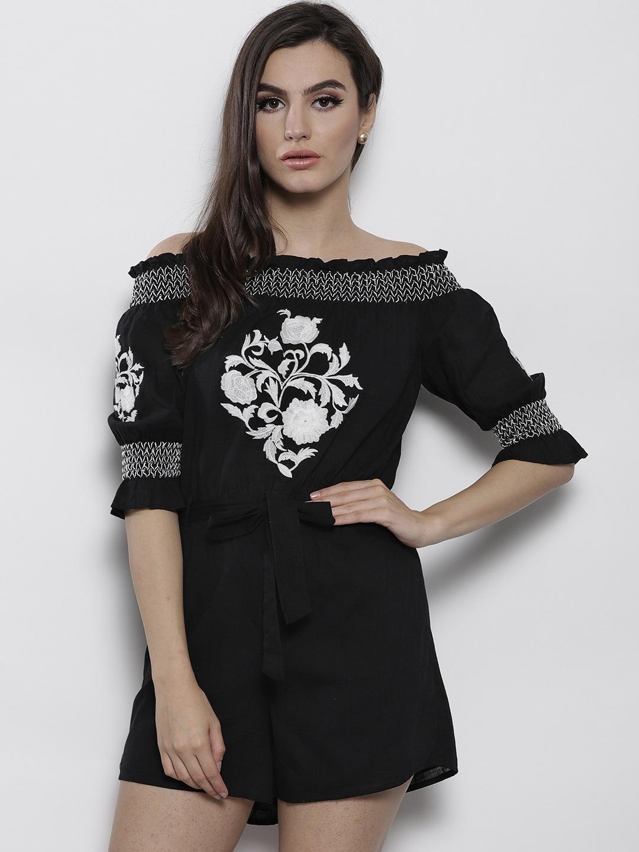 2538bcd0cb2 Women Short Sleeve Jumpsuit - Buy Women Short Sleeve Jumpsuit online in  India