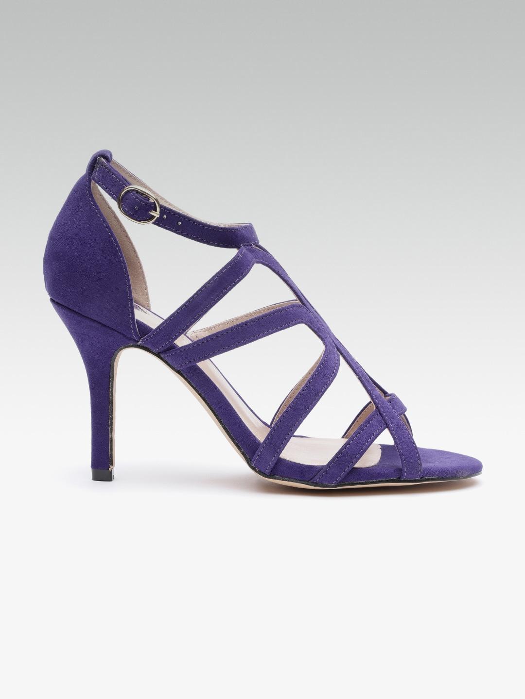 cc0f1d5e9 Purple Women Casual Shoes Heels - Buy Purple Women Casual Shoes Heels  online in India