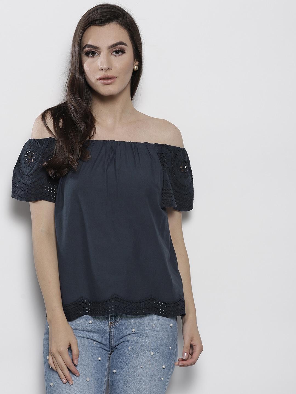 83864bd44d6 Off Shoulder Tops - Buy Off Shoulder Tops Online in India