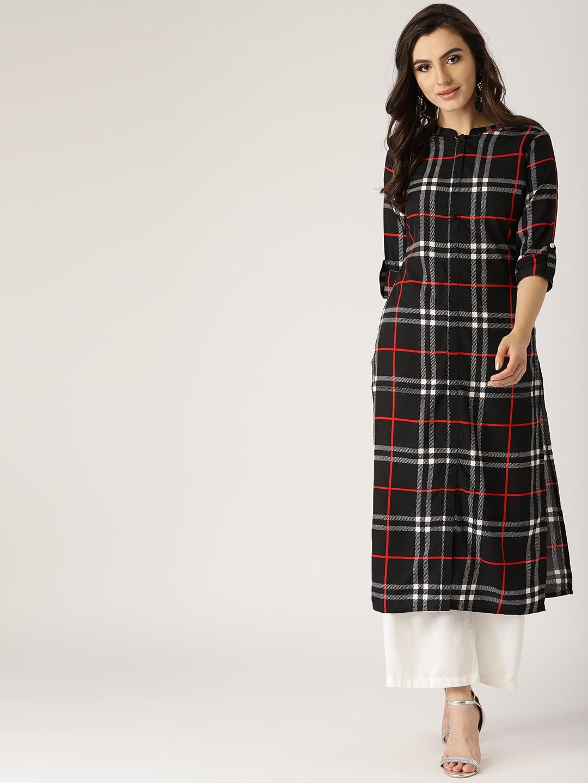 2f8f3ae2e07f Kurtis Online - Buy Designer Kurtis   Suits for Women - Myntra