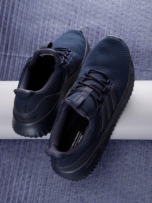 ADIDAS Men Navy Blue Cloudfoam Ultimate Running Shoes