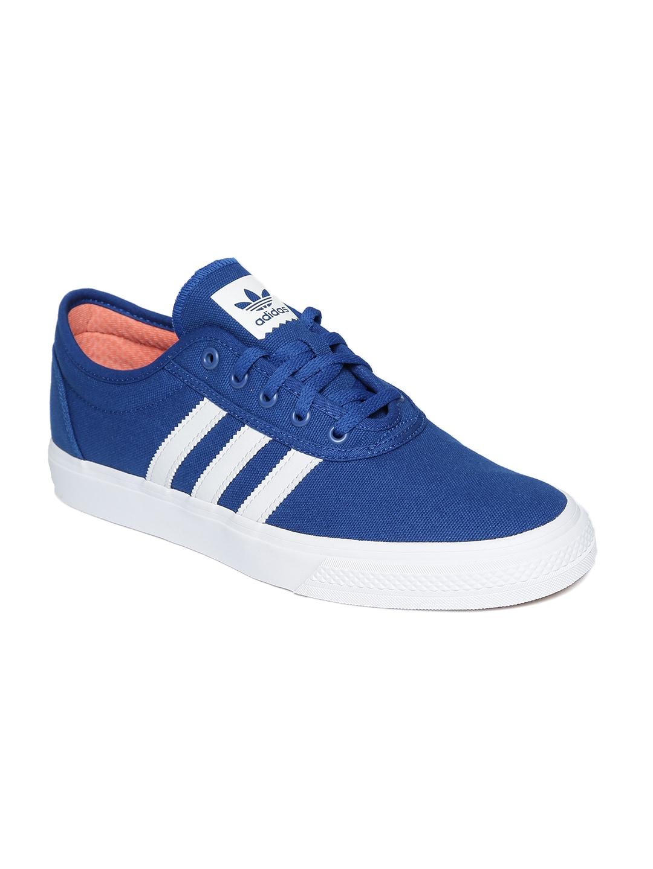 0015d3cd79bc43 Adidas Men Blue Casual Shoes Sports - Buy Adidas Men Blue Casual Shoes  Sports online in India
