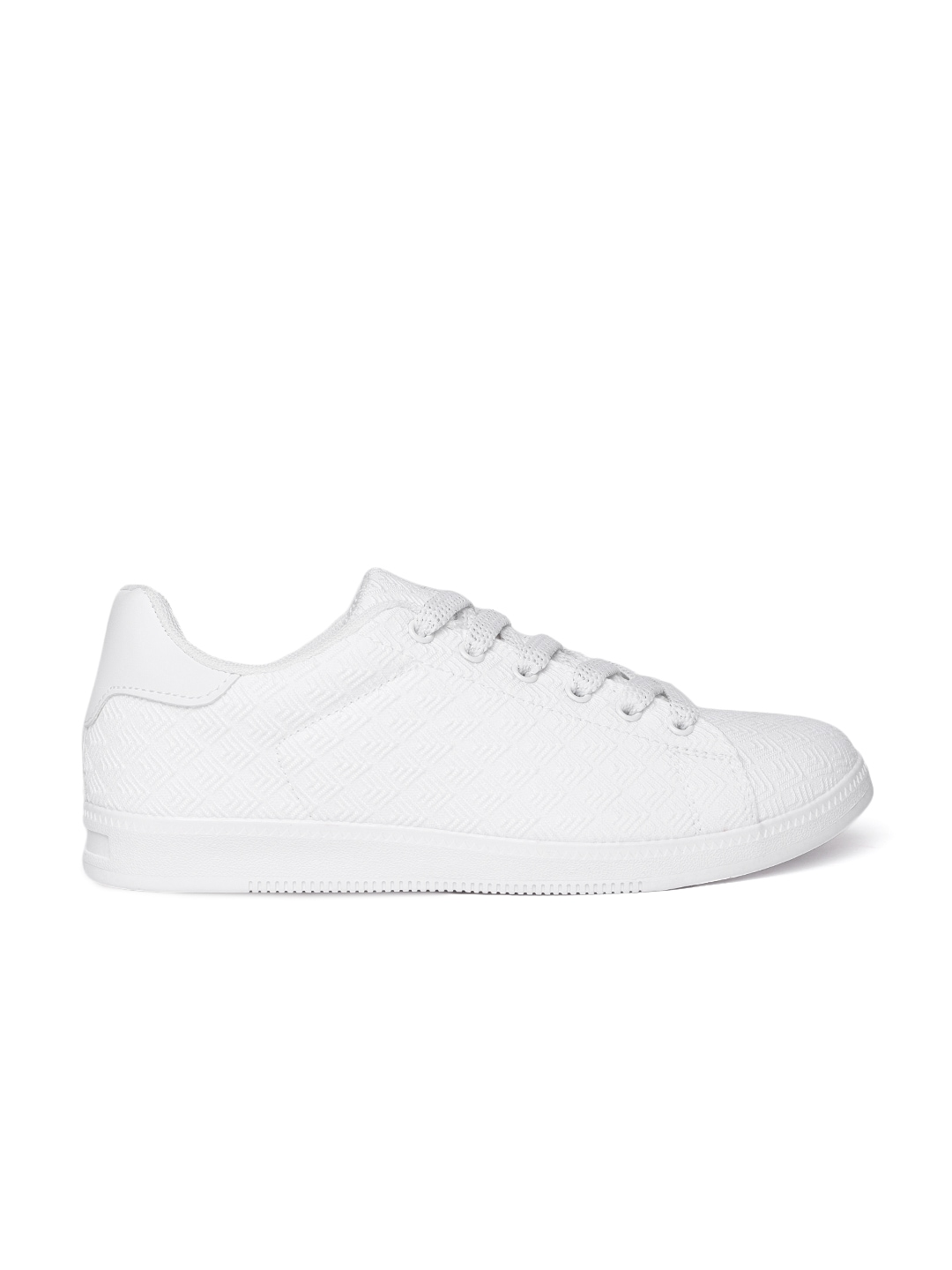 White Sneakers For Women - Buy White Sneakers For Women online in India 39ab0c551
