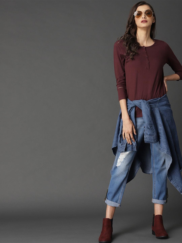huge selection of 691d8 78cc0 Tops - Buy Designer Tops for Girls   Women Online   Myntra
