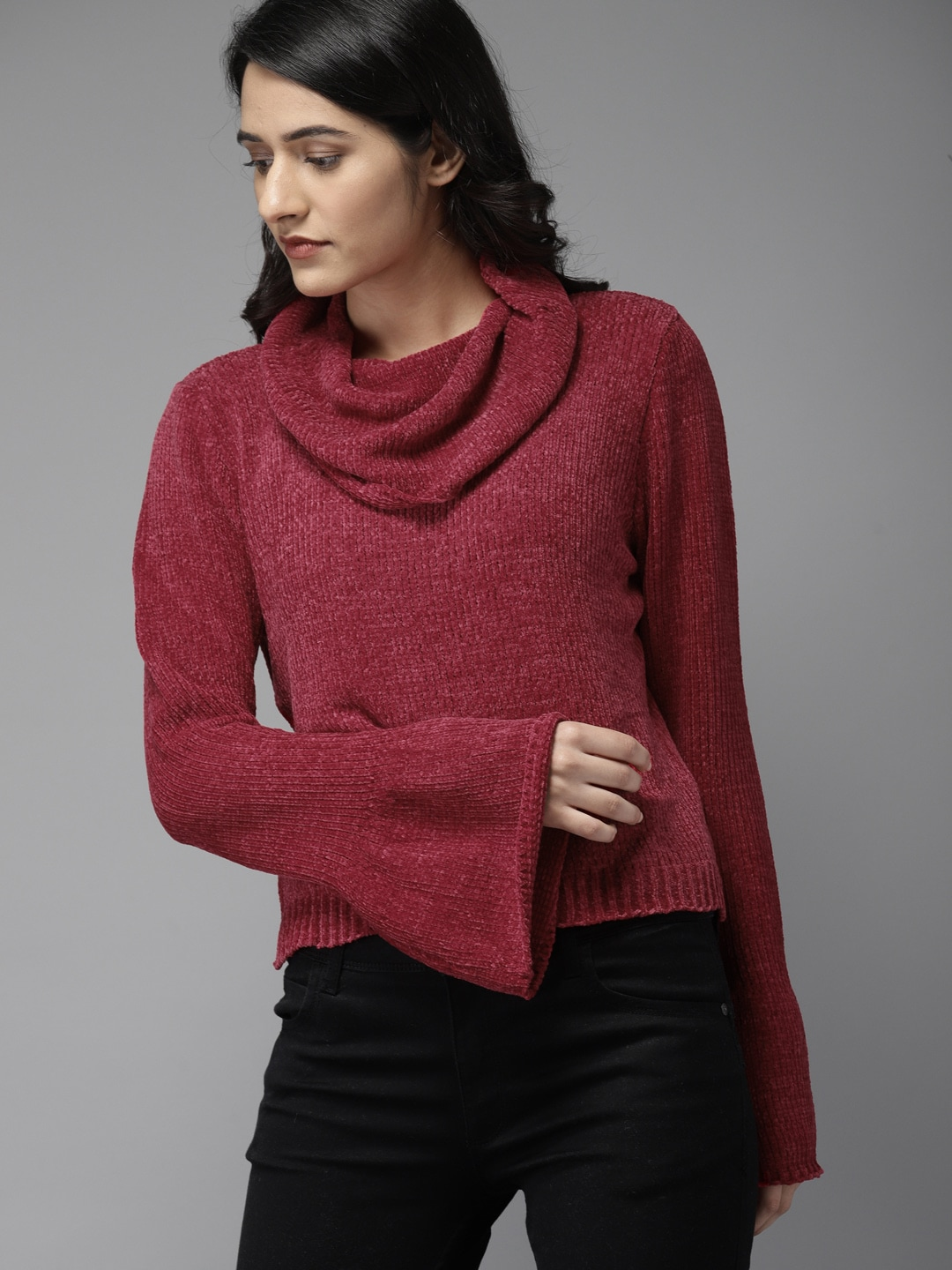 Sweaters For Women Buy Womens Sweaters Online Myntra