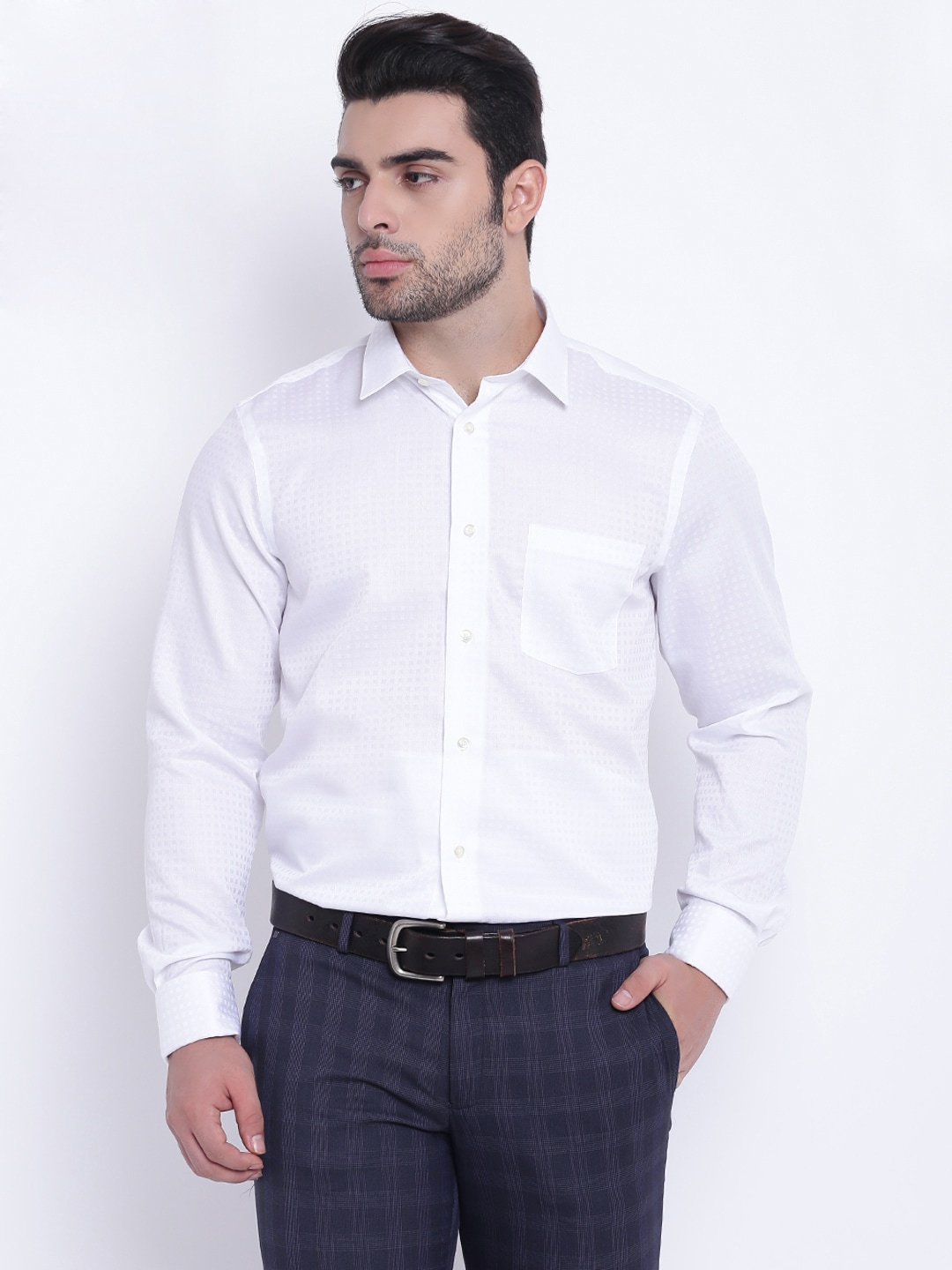 aec64a86eeb White Party Wear Shirts - Buy White Party Wear Shirts online in India
