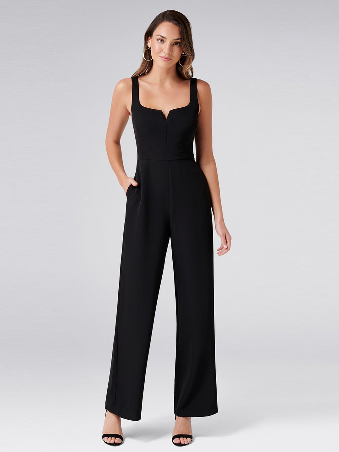 d71d7be34345 Forever New Womens Jumpsuit - Buy Forever New Womens Jumpsuit online in  India