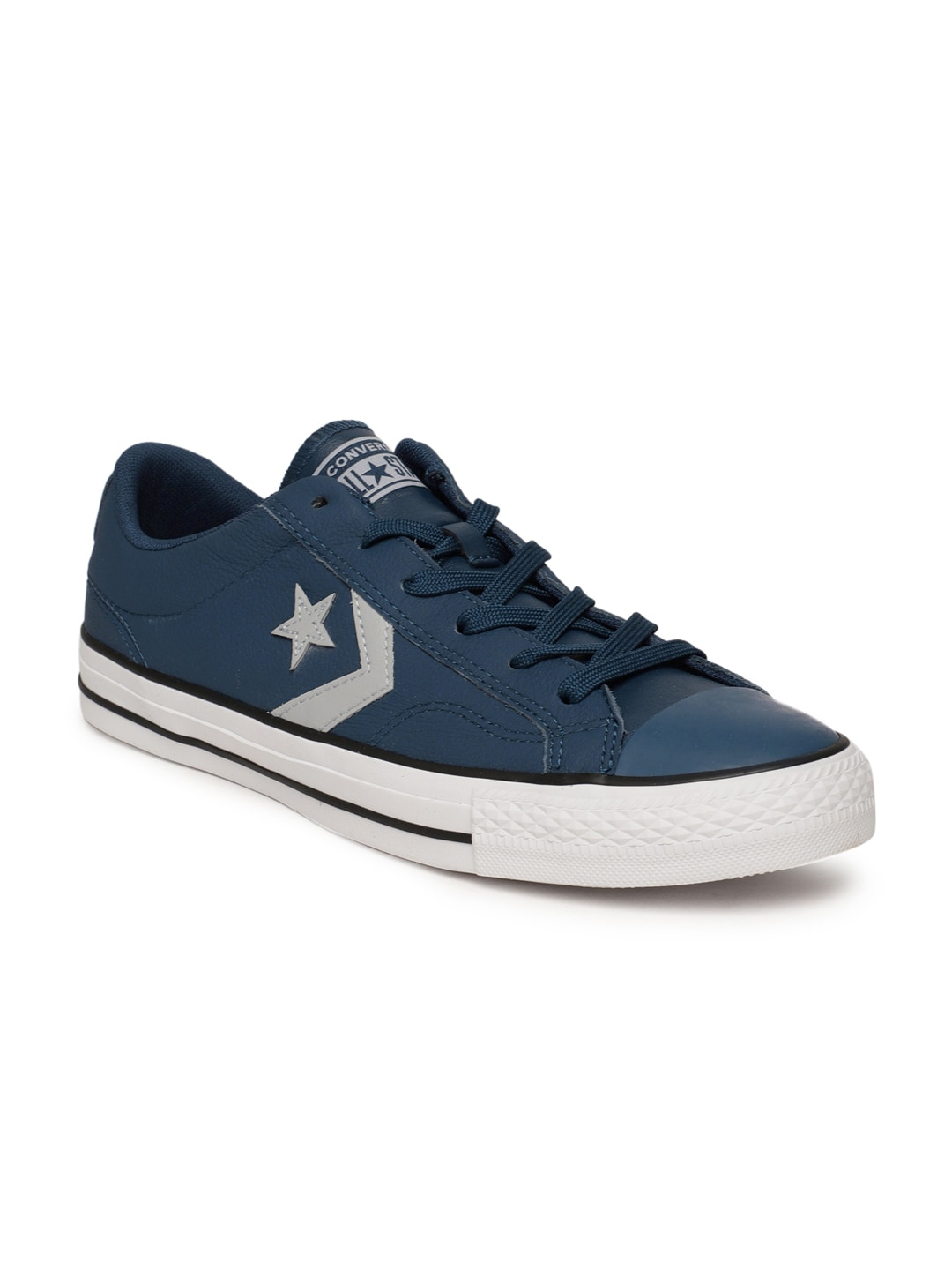 Navy Blue Blue Converse Shoes - Buy Navy Blue Blue Converse Shoes online in  India d801b0a65