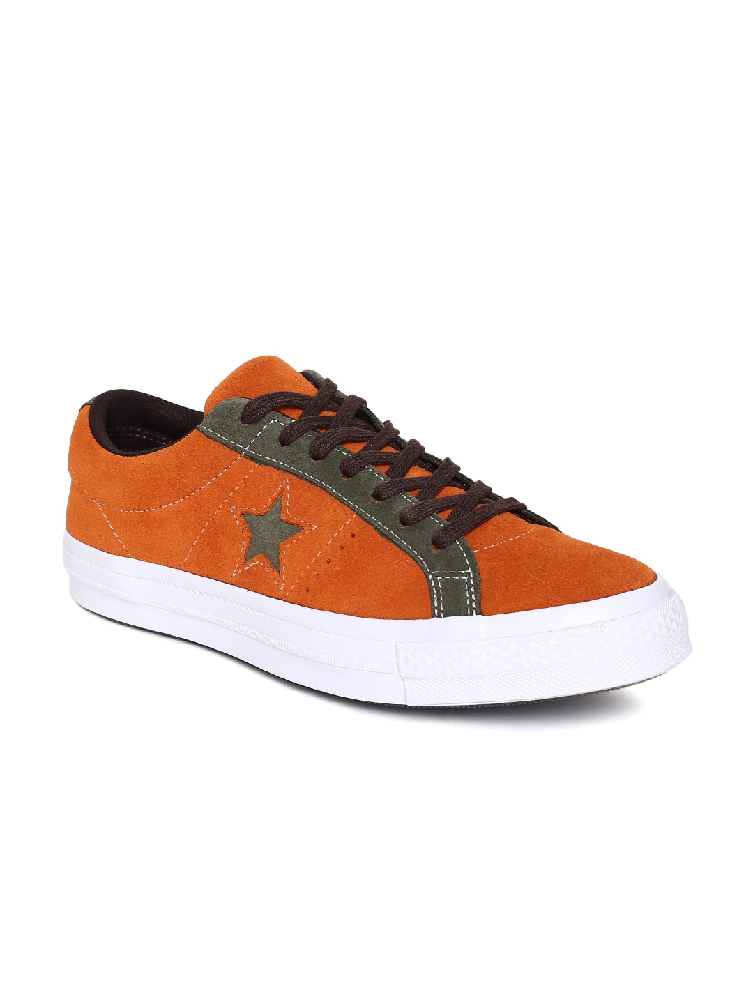 e91db2a255d514 Men Orange Sneaker Shoes - Buy Men Orange Sneaker Shoes online in India