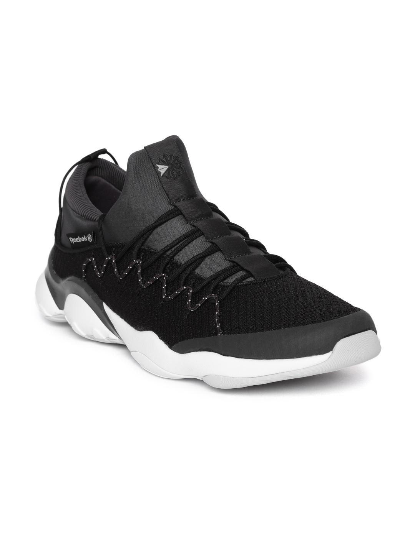 d73fd92367 Reebok Classic Unisex Black DMX Fusion Lite Sneakers