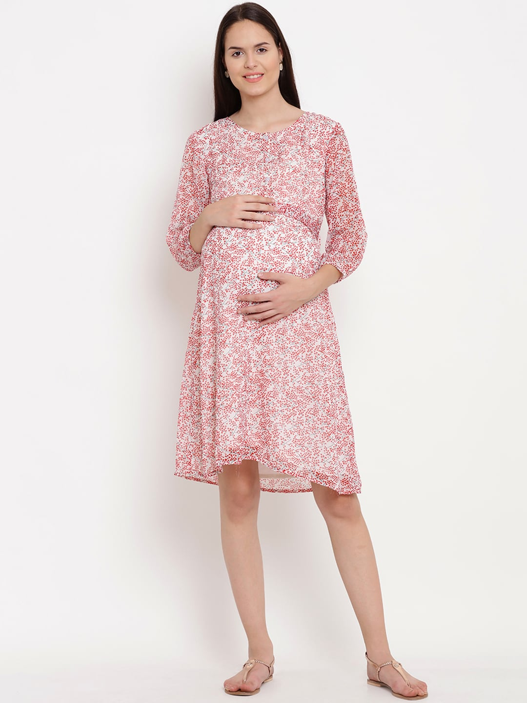 Dress maternity to wear to baby shower rare photo